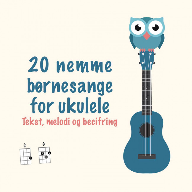 20 nemme børnesange for ukulele